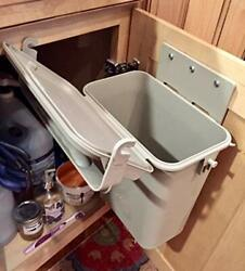 Under Counter Indoor Kitchen Food Waste 1.5 gal Compost Container Bin System by $22.31