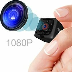 Mini Spy Camera 1080P Hidden Camera Portable Small HD Nanny Cam with Night Vis $5.00