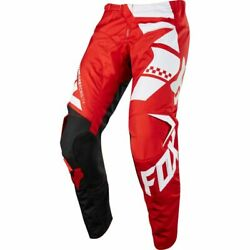Fox Youth 180 Motocross MX Off Road Trousers Pants Sayak Red GBP 49.99