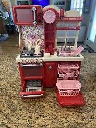 """EUC Our Generation Kitchen For 18"""" Doll 20 Pieces Including Accessories $29.99"""