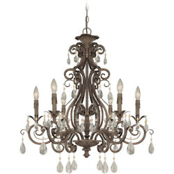 Craftmade 25626 FR Englewood Chandelier French Roast $649.83