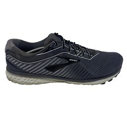 Brooks Ghost 12 Mens Size 15 2E Wide 1103162E075 Gray Running Shoes D $59.99