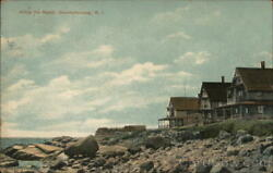1911 QuonochontaugRI Along the Beach Washington County Rhode Island Postcard $15.99