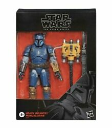 Star Wars The Black Series Heavy Infantry Mandalorian 6quot; Figure IN STOCK $39.95
