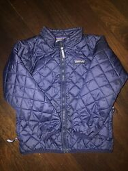 Patagonia Jacket Boys Size 4. Pre owned. Blue $25.00