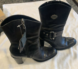 harley davidson womens boots size 8 Heel 3 1 2 In Height $49.99