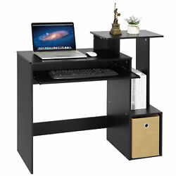 Gaming Table Computer Desk Laptop PC Study Writing Table Home Office Black $54.99