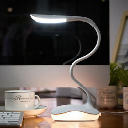 Dimmable LED Desk Lamp Touch with USB Charging Port 3 Brightness Levels $11.91