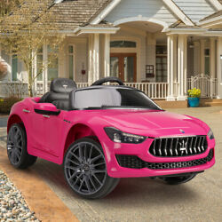12V Kids Ride On Car Maserati Rechargeable Battery Electric Toy W Remote Control $169.99