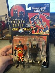 Batman amp; Robin Crime Squad Disaster Control Batman With Rescue Pack Kenner 1996 $19.90