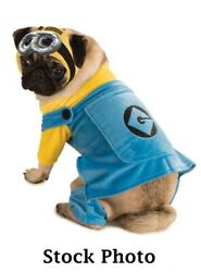 Minions Dog Pet Costume Assorted Sizes 100% Goes to No Kill Animal Rescue NEW $6.00