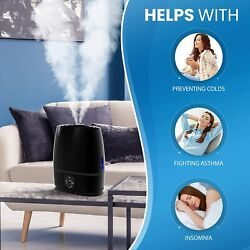 Everlasting Comfort Cool Mist Humidifier for Bedroom with Essential Oil Tray 6L $52.14