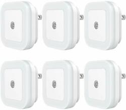 LED Night Light with Dusk to Dawn Sensor for Bedroom Plug in 6 Pack $23.24