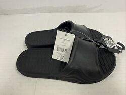 Boys black slides size L 2 3 USA MADE all man made material New $8.99