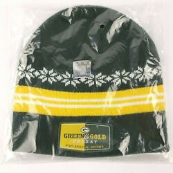 Green Bay Packers Beanie Green and Gold Friday CITGO Knit Hat Cap $6.75