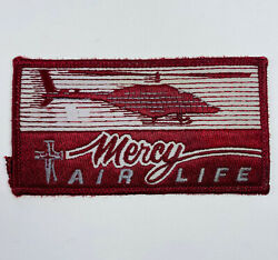 Mercy Air Life Helicopter Flight Patch A5 $25.49