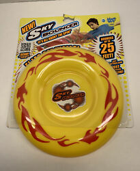 Maui Toys Sky Bouncer Flying Disc Yellow Bounces Up To 25 Feet NEW $44.00