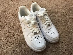 Nike Air Force 1 #x27;07 Low White size 8.5us $65.00