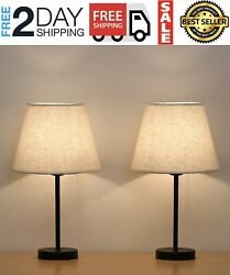2 Lampara Modernas Para Mesa De Noche Lamps Bedroom Nightstand Wooden Lamps $51.99