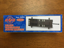 Atlas O Deluxe Under table Switch Machine #6098 New $18.99