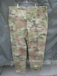 OCP Multicam Army Combat Pants EXTRA LARGE LONG XL 43 x 35 inches $25.00