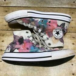 Converse All Star Girls Floral High Top Sneakers $19.95