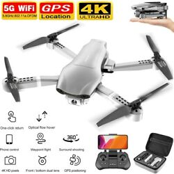 Professional F3 Drones GPS 5G WiFi FPV 4K 1080P HD Wide Angle Camera Foldable US $121.85