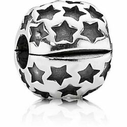 Exquiste Pandora ALE Sterling Silver Jewelry Star Clip Charm 790851 $28.99