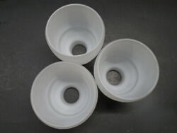 HUNTER 52#x27;#x27; AMBERLIN CEILING FAN REPLACEMENT GLOBES SHADES FROSTED IN AND OUT $40.00