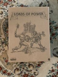 Masters of the Universe Lords of Power Power Con 2020 Limited Edition BOX ONLY $90.00
