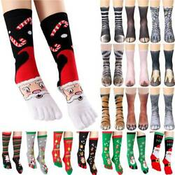 Women Men Novelty Animals Paw Sockings Party 3D Print Long Socks Novelty Gift. $5.50