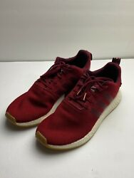 Adidas Boost NMD R2 Men#x27;s Shoes Collegiate Burgundy Size 10.5 $17.99