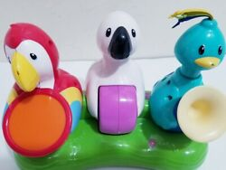 Evenflo Triple Fun Jungle Exersaucer Replacement Parts 3 Bird Band Toy Tray $19.99
