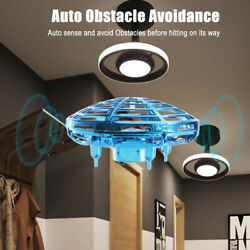 Mini Drone Quad Induction Levitation Hand Operated Helicopter Toy 360° Red Blue $12.99