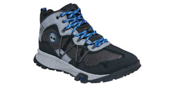 timberland GARRISON TRAIL WATERPROOF MID FABRIC BLACK US MENS SIZES TB0A2A7FT015 $150.00