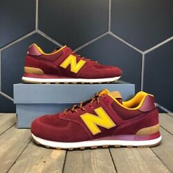 New Balance 574 Runner Outdoor Pack Burgundy Size 13 Free Shipping $85.00