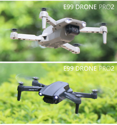 2021 NEW E99 Pro 4K Quadcopter Drone with HD Dual Cameras Foldable $29.00