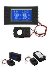 Open Close Digital Display Power Monitor Meter Frequency Current Voltage Factor $24.99