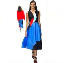 ROKSANDA Silk RUNWAY Dress Size: S XS US 2 4 UK 8 $2850