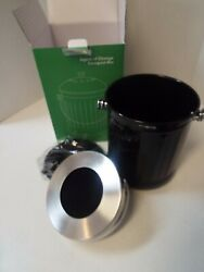 Vremi Kitchen Compost Bin for Counter or Under Sink 1.2 Gallon Small Metal Bags $45.00