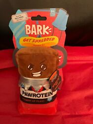 BARK DOG TOY GET SHREDDED PAWROTEIN POWER UP PLAY BRAND NEW WITH TAGS $7.99
