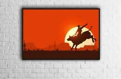 Red Dead Redemption Poster High Quality Print Poster Home Decor No Frames $17.80