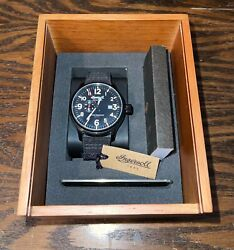Ingersoll Apsley Pilot Automatic Watch Black I02801 $139.99