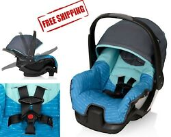 Evenflo Nurture Rear Facing Infant Car Seat Graham Blue Rated 4.09 out of 5 $48.99