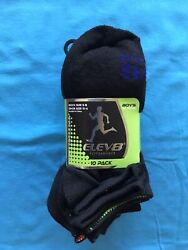 ELEV8 PERFORMANCE NO SHOW BOYS SOCKS $8.99