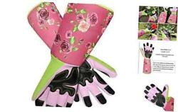 Long Sleeve Gardening Gloves Pruning Thornproof Garden Gloves with Extra Floral $24.57