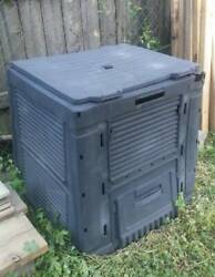 Outdoor Compost Bin organic garden soil composter LOCAL PICKUP ONLY $26.00