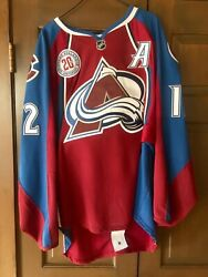 Jarome Iginla Game Used And Autographed Colorado Avalanche Jersey $3999.00