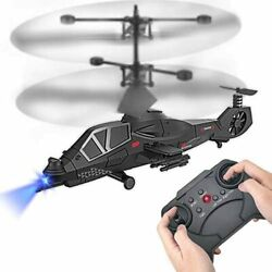Remote Control Helicopter RC Army Heli Toy with Gyro amp; Led for Kids Boys Girls A $28.99