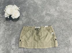 NEW BOHO MINI BOTTOM SKIRT WOMEN SIZE JR MEDIUM M 5 SEXY CAMO AERO SHORT SPRING $9.10